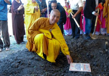 Dai Bi Temple Ground Breaking Ceremony – Sep 23, 2012