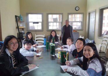 Các Em lớp Phật Pháp Tô Màu Tranh Đức Phật Nghệ Thuật – Mừng Xuân Kỷ Hợi (4 Feb, 2019)
