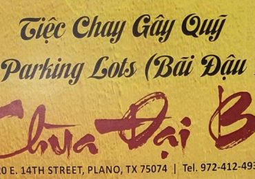 Chùa Đại Bi – Parking Lot Fundraiser