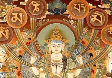 Nhạc Lục Tự Đại Minh Chú (tiếng Phạn)