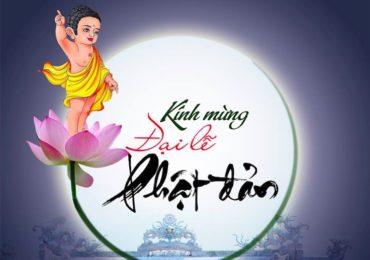 Thông báo: Đại Lễ Phật Đản, Phật lịch 2563 – Chủ Nhật, 12 May, 2019